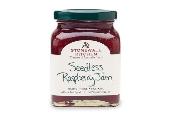 Large image of Stonewall Kitchen Seedless Raspberry Jam - 101339