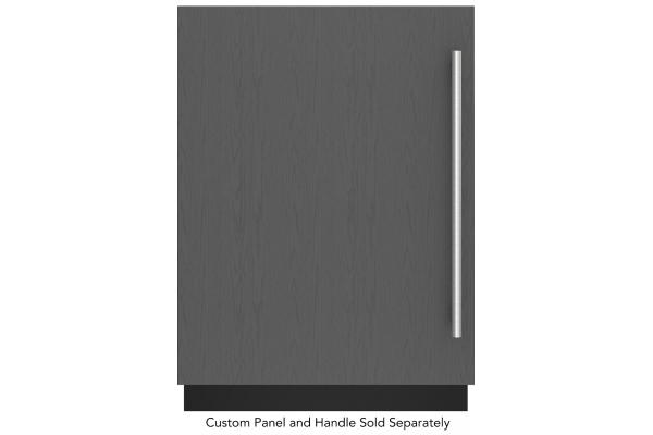 """Large image of Sub-Zero 24"""" Designer Panel Ready Left-Hinge Undercounter Refrigerator - DEU2450RL"""