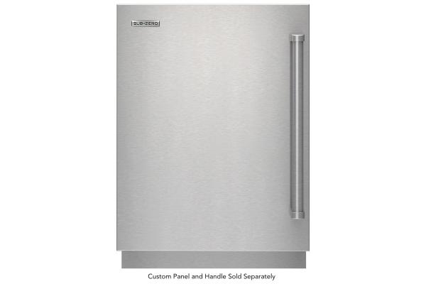 "Large image of Sub-Zero 24"" Designer Panel Ready Left-Hinge Outdoor Undercounter Refrigerator - DEU2450ROL"