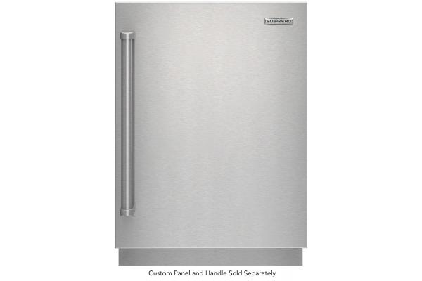 "Large image of Sub-Zero 24"" Designer Panel Ready Right-Hinge Outdoor Undercounter Refrigerator - DEU2450RO/R"