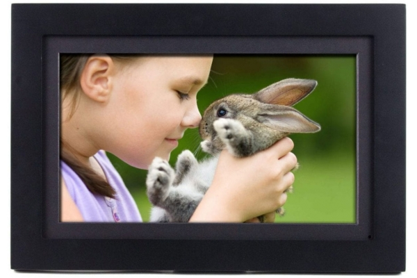 """Large image of Switchmate 14"""" Black PhotoShare Friends And Family Smart Frame - FSM014BL"""