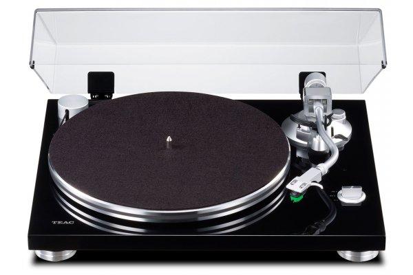 Large image of Teac TN-3B Black 2-Speed Analog Turntable - TN3BSEB
