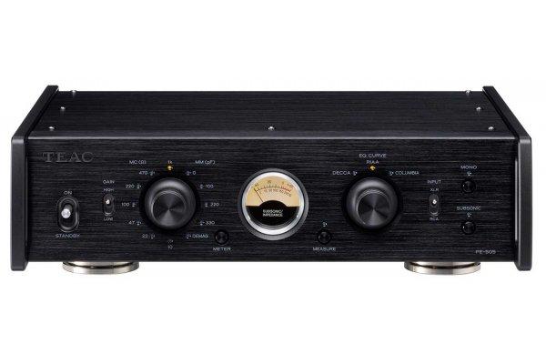 Large image of Teac PE-505 Black Fully-Balanced Phono Preamplifier - PE505B