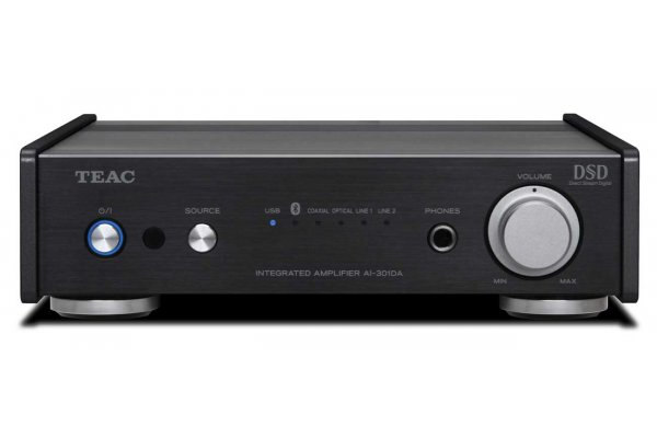 Large image of Teac AI-301-DA-X Black Integrated Stereo Amplifier w/ USB DAC - AI301DAXB