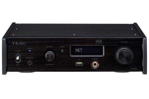 Large image of Teac NT-505 Black USB DAC/Network Player - NT505XB