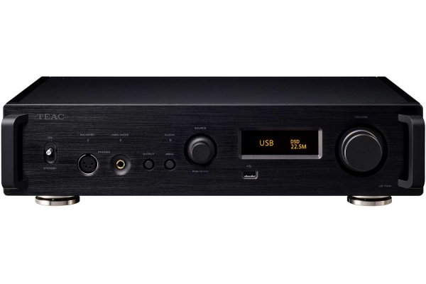 Large image of Teac UD-701N Black USB DAC/Network Player - UD701NB