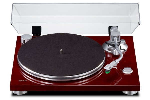 Large image of Teac TN-3B Cherry 2-Speed Analog Turntable - TN3BSECH
