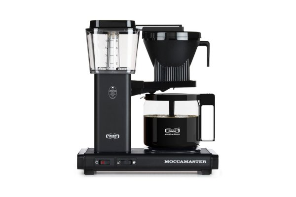 Large image of Technivorm KBGV Select Moccamaster 10-Cup Matte Black Coffee Maker - 53948