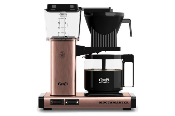 Large image of Technivorm KBGV Select Moccamaster 10-Cup Rose Gold Coffee Maker - 53935