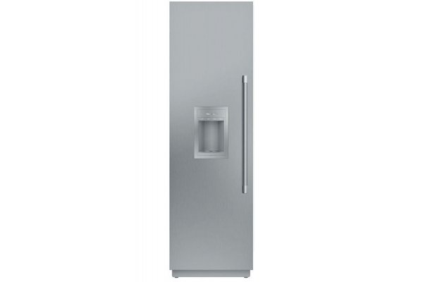 """Large image of Thermador Freedom Collection 24"""" Panel Ready Left-Hinge Built-In Freezer Column With Ice & Water Dispenser - T24ID905LP"""