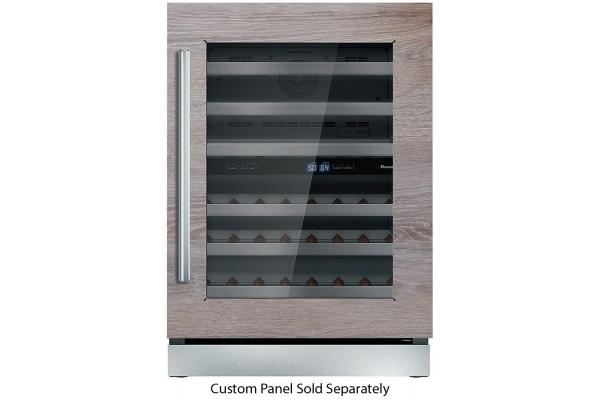 "Large image of Thermador 24"" Custom Panel Right-Hinge Wine Refrigerator - T24UW900RP"