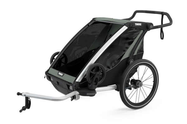 Large image of Thule Chariot Lite 2 Agave Bike Trailer - 10203022