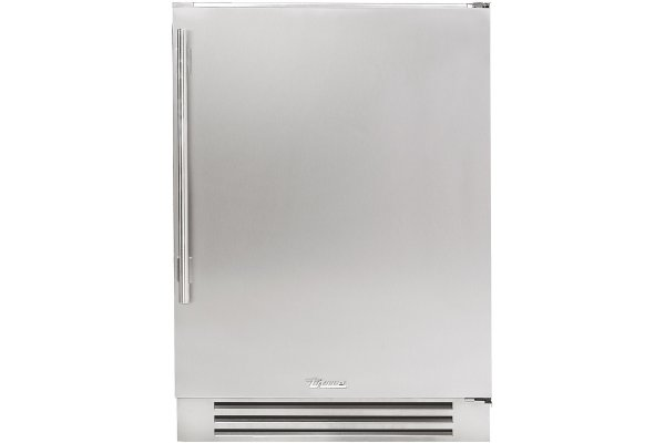 """Large image of True Residential 24"""" Stainless Steel Right-Hinge Undercounter Freezer - TUF-24-R-SS-B"""
