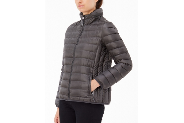Large image of TUMI TUMIPAX XL Charlotte Iron Packable Travel Puffer Womens Jacket - 136307-T272
