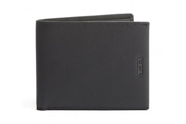 Large image of TUMI Nassau Grey Textured Global Double Billfold Wallet - 130407T530
