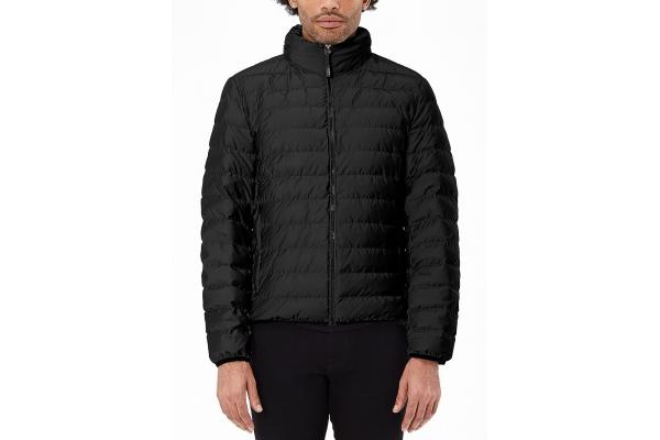 Large image of TUMI Medium Preston Black Packable Mens Jacket - 136289-1041