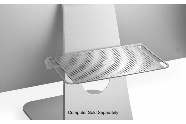 Large image of Twelve South Silver BackPack Shelf For Apple iMac Display - 12-1302