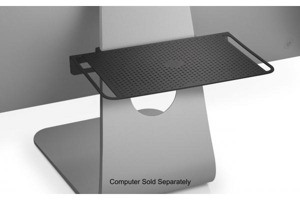 Large image of Twelve South Black BackPack Shelf For Apple iMac Display - 12-1745