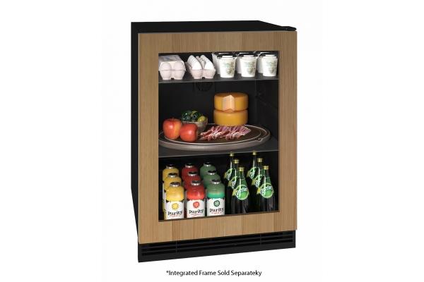 """Large image of U-Line 24"""" Integrated Frame Refrigerator - UHRE124-IG01A"""