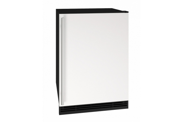 "Large image of U-Line 24"" White Solid Refrigerator - UHRE124-WS01A"