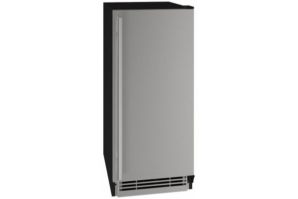 """Large image of U-Line 15"""" Stainless Steel Refrigerator - UHRE115-SS01A"""