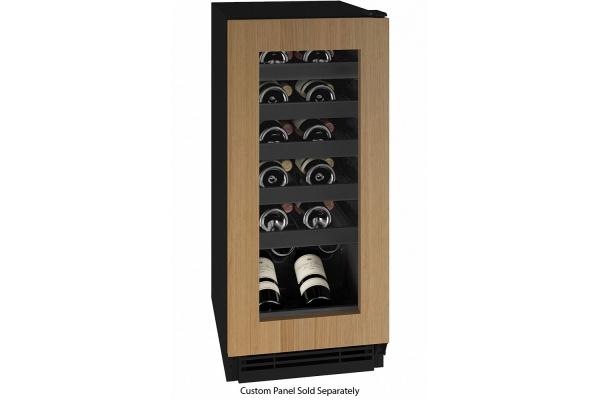 "Large image of U-Line 15"" Integrated Frame Wine Refrigerator - UHWC115-IG01A"