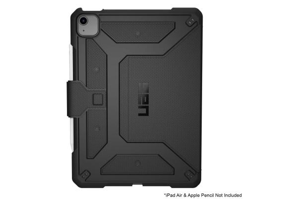 "Large image of Urban Armor Gear Black Metropolis iPad Air 10.9"" Case (4th Gen, 2020) - 122556114040"