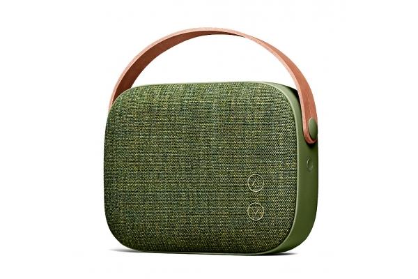 Large image of Vifa Helsinki Willow Green Portable Bluetooth Speaker - 83082