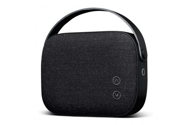 Large image of Vifa Helsinki Slate Black Portable Bluetooth Speaker - 87063