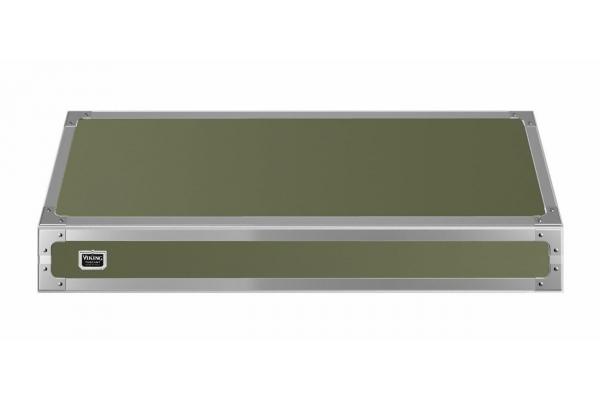 """Large image of Viking 48"""" Tuscany Cypress Green Wall Hood - TVWH480CY"""