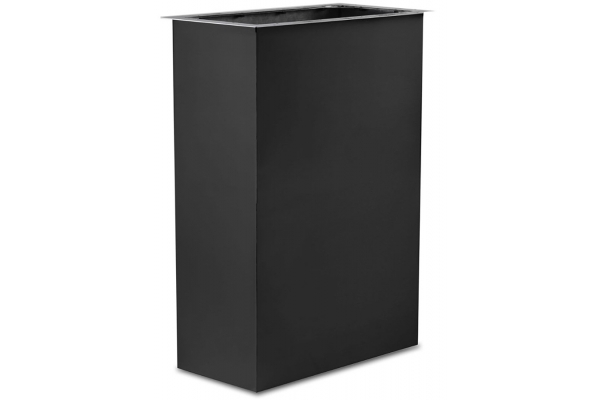 Large image of Viking Cast Black Duct Cover Extension For Wall Hoods - DCCE1210CS