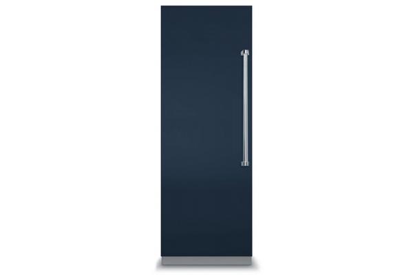"Large image of Viking 7 Series 30"" Slate Blue Left Hinge Fully Integrated All Freezer - VFI7300WLSB"