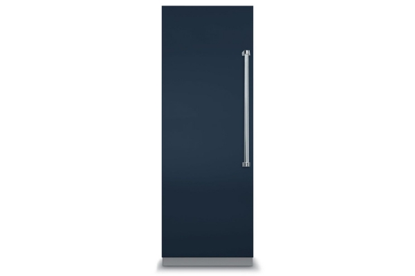 "Large image of Viking 7 Series 30"" Slate Blue Left-Hinge Fully Integrated All Refrigerator - VRI7300WLSB"