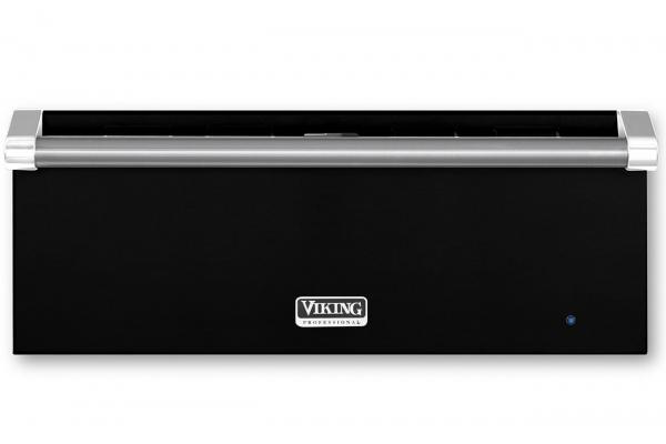 """Large image of Viking 27"""" Professional 5 Series Black Warming Drawer - VWD527BK"""