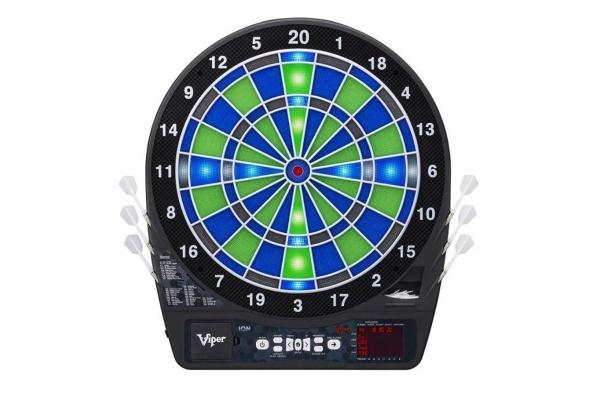 Large image of Viper By GLD Ion Illuminated Electronic Dartboard - 420003