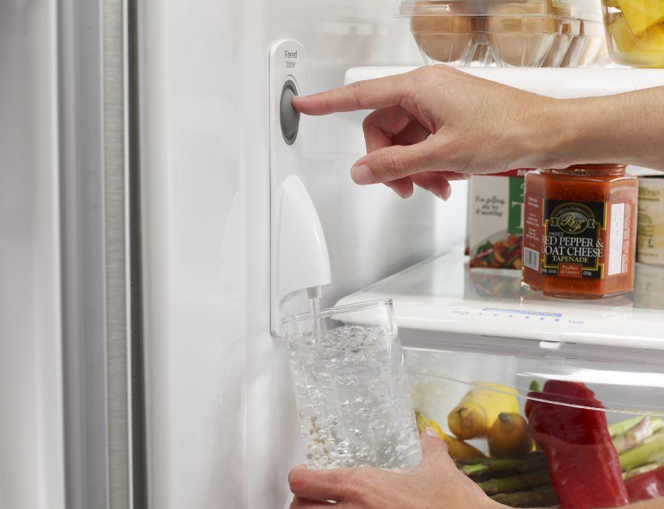 Whirlpool French Bottom Freezer Refrigerator Wrf535swbm