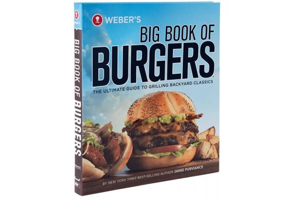 Large image of Weber's Big Book of Burgers Cookbook - 9553