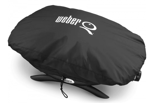Large image of Weber Q 100/1000 Series Gas Grill Cover - 7110
