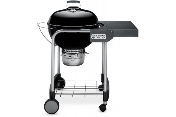 "Large image of Weber 22"" Performer Black Charcoal Grill - 15301001"