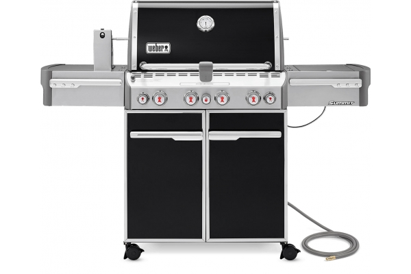 Large image of Weber Summit E-470 Black Natural Gas Grill - 7271001