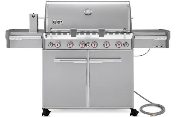 Large image of Weber Summit S-670 Natural Gas Stainless Steel Outdoor Grill - 7470001