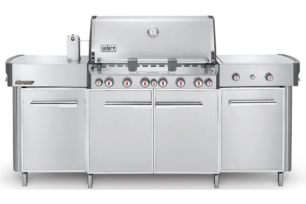 Large image of Weber Summit Stainless Steel Natural Gas Grill Center - 292001