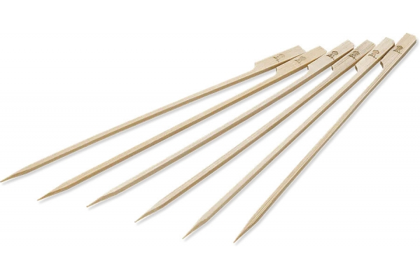 Large image of Weber 25-Pack Original Bamboo Skewers - 6608