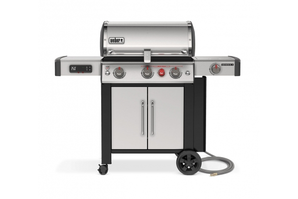 Large image of Weber Smart Series Genesis II SX-335 Stainless Steel Natural Gas Grill - 66006601