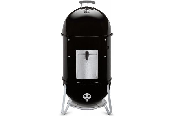 """Large image of Weber Black 18"""" Smokey Mountain Cooker Smoker - 721001"""