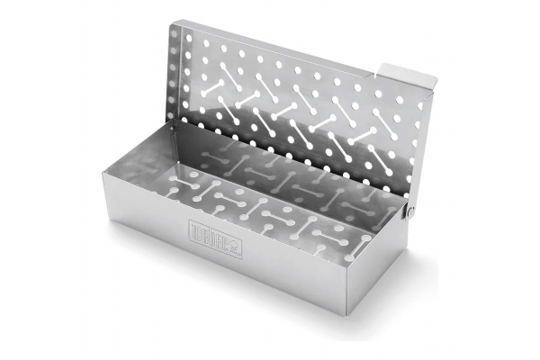 Large image of Weber Stainless Steel Smoker Box - 7576