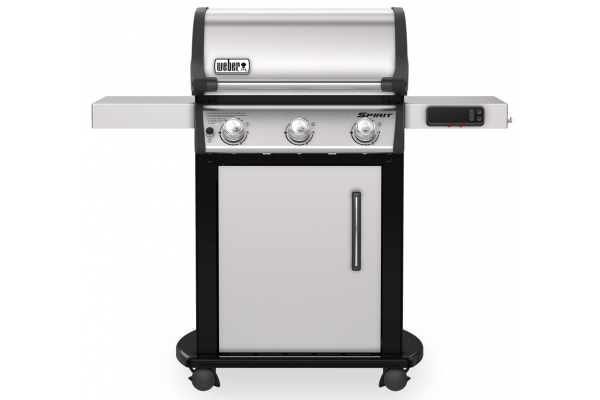 Large image of Weber Spirit SX-315 Stainless Steel Liquid Propane Gas Smart Grill - 46502401