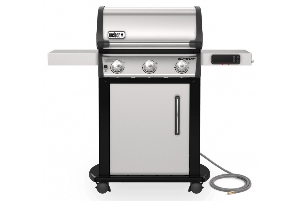 Large image of Weber Spirit SX-315 Stainless Steel Natural Gas Smart Grill - 47502401