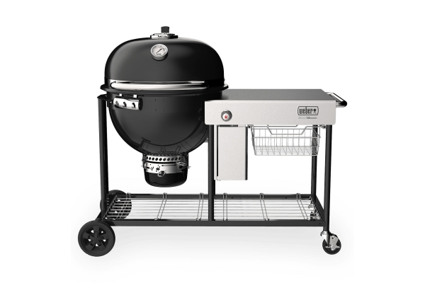 """Large image of Weber 24"""" Summit Kamado S6 Black Charcoal Grill Center - 18501101"""
