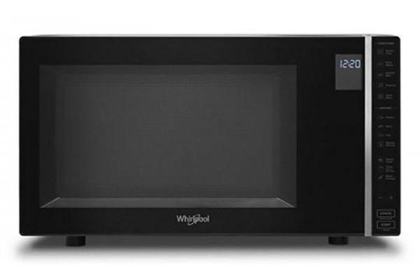 Large image of Whirlpool 1.1 Cu. Ft. Black Countertop Microwave - WMC30311LB